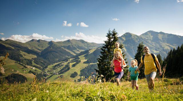 Saalbach - Hinterglemm - Leogang, Rakousko